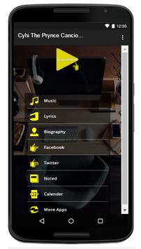 Cyhi The Prynce - Music And Lyrics apk screenshot