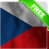 Czech republic flag lwp Free icon