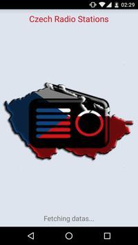 Czech radio stations poster
