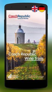 Czech Republic Wine Trails poster