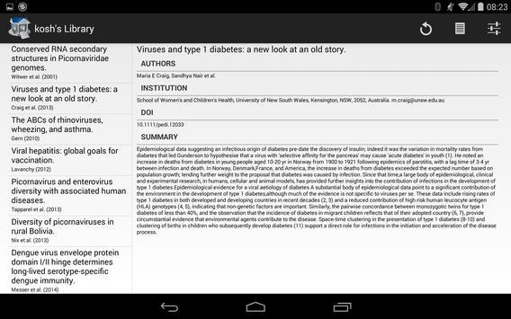 Unofficial Papers3 Client apk screenshot
