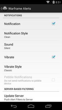 Warframe Alerts screenshot 4