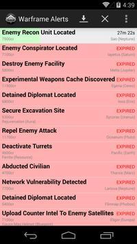 Warframe Alerts screenshot 2