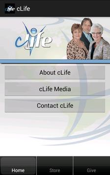 cLife Ministries poster