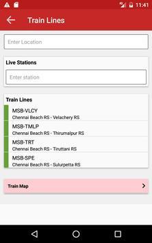 MTC Bus Metro Suburban train screenshot 8