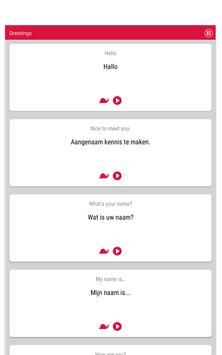 Learn Dutch screenshot 9