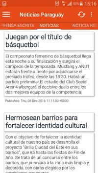 Noticias de Paraguay 2 apk screenshot