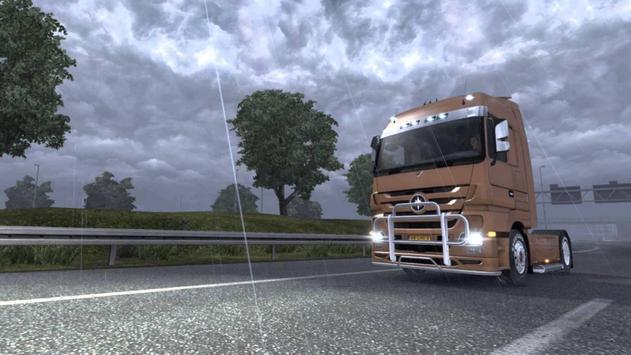 Truck Driver Real Traffic Mod screenshot 13