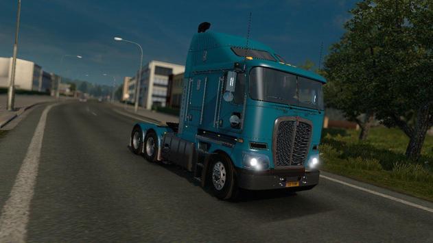 Truck Driver Real Traffic Mod screenshot 1