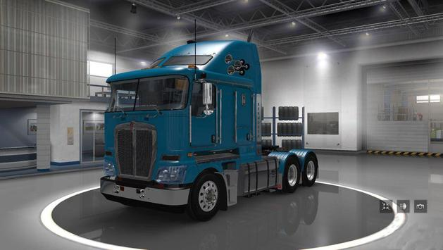Truck Driver Real Traffic Mod screenshot 2