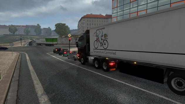 Truck Driver Real Traffic Mod screenshot 4