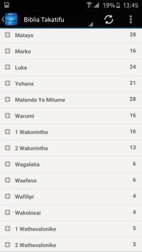 Biblia Takatifu screenshot 1