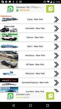 Rent A Car in New York apk screenshot