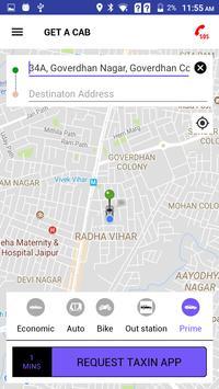 Taxinapp screenshot 2