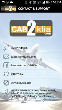 CAB2klia apk screenshot