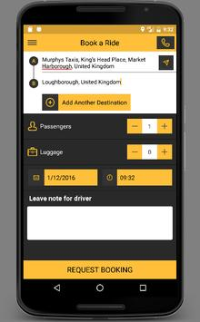 Triple Zero Private Hire Booking App screenshot 1