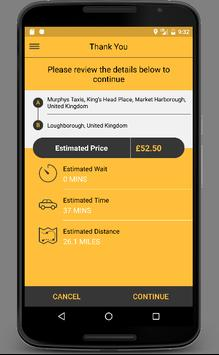 Triple Zero Private Hire Booking App screenshot 2