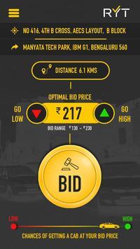 RYT Cabs apk screenshot