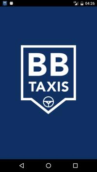 B Blue Taxis - Driver poster
