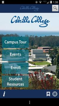 Cabrillo College Campus Tour poster