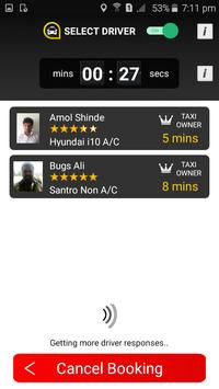 Cabzo - The Taxi Booking App screenshot 1