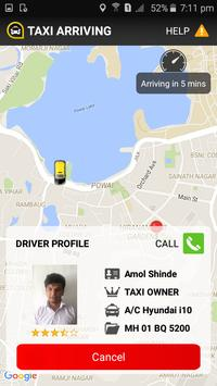 Cabzo - The Taxi Booking App screenshot 2