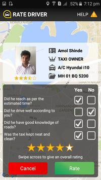 Cabzo - The Taxi Booking App screenshot 3