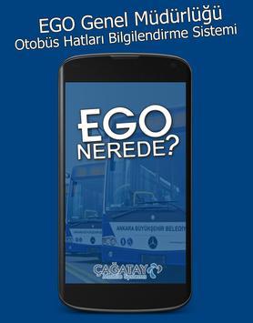 EGO Otobüs Nerede poster