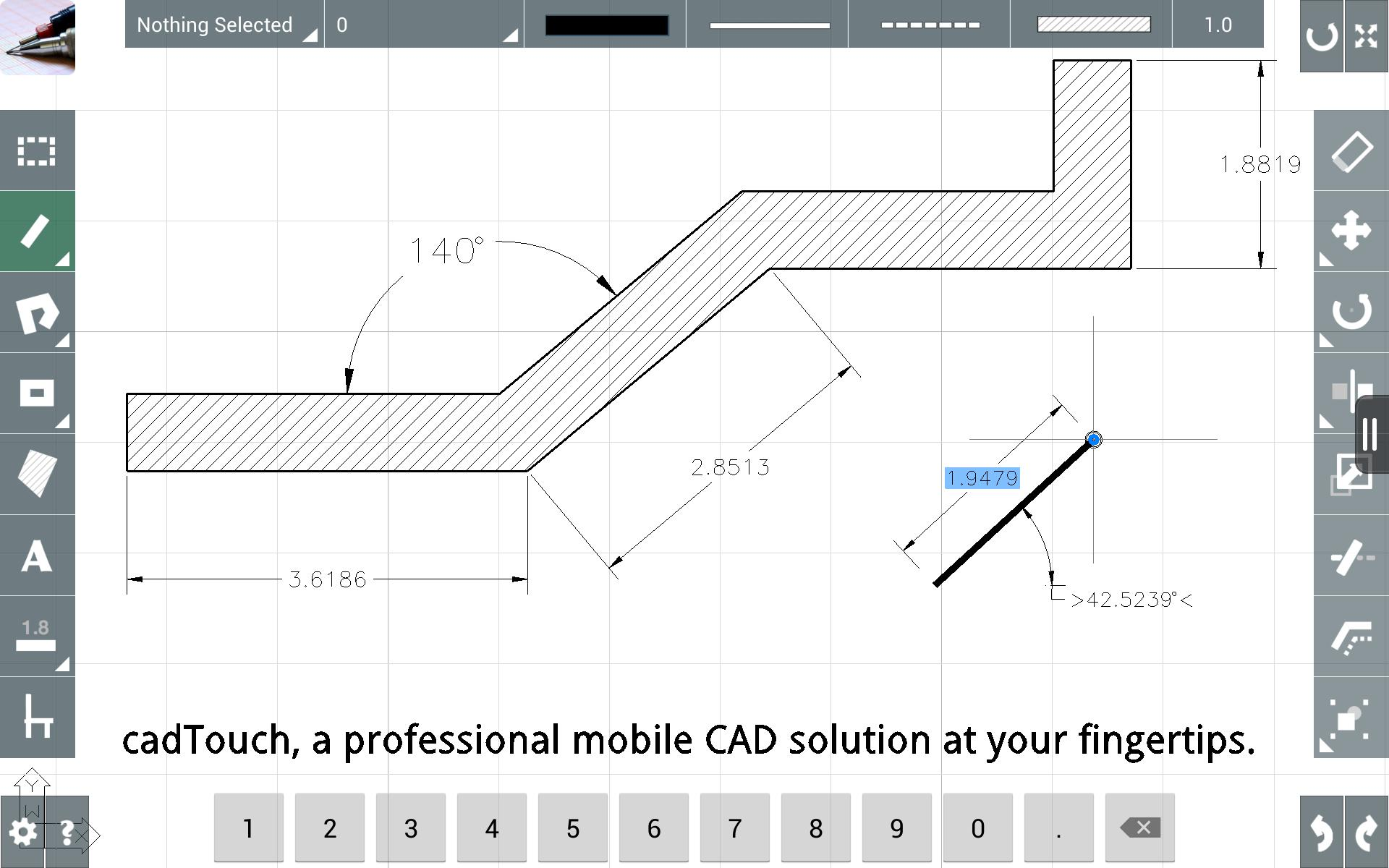 CAD Touch Free poster