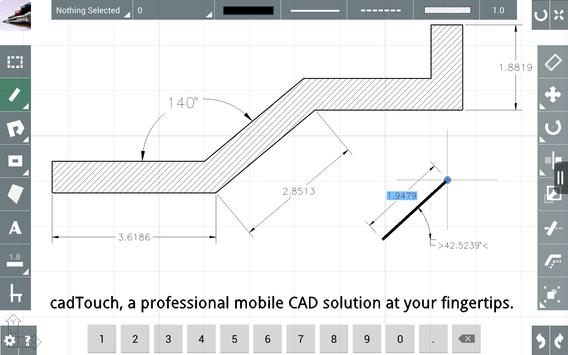 Cad Touch Free Screenshot 8