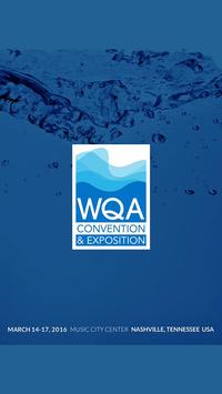 WQA Convention & Expo 2016 poster
