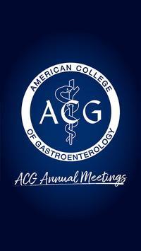 ACG Annual Meetings poster