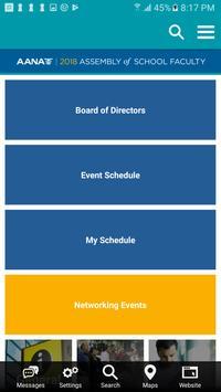 AANA Meetings screenshot 2