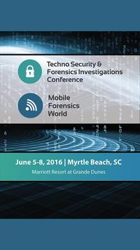 Techno Security 2016 poster