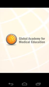 Global Academy for Med Ed CME poster