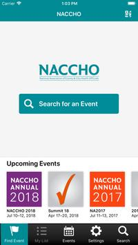 NACCHO Conference Apps poster