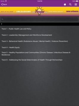 NACCHO Conference Apps screenshot 7