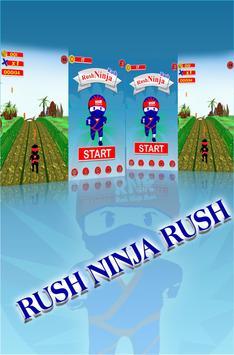 Rush Ninja Rush poster