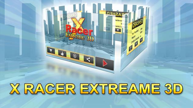 X Racer Extreme 3D poster