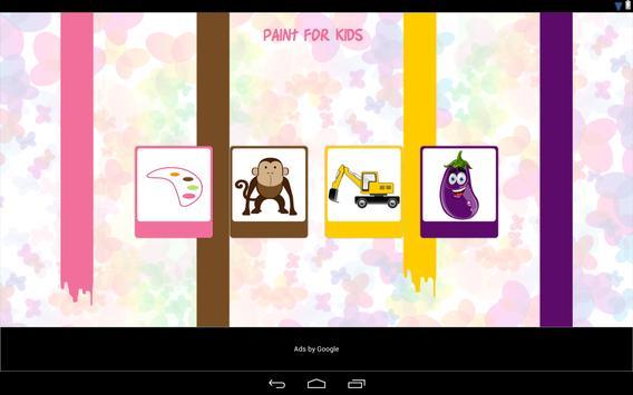 Paint for Kids screenshot 1
