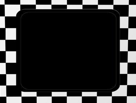Black and White Photo Frames poster