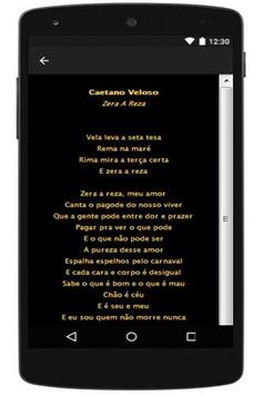 Best Lyrics Caetano Veloso apk screenshot
