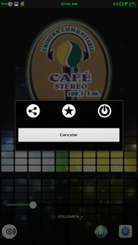Cafe Stereo apk screenshot