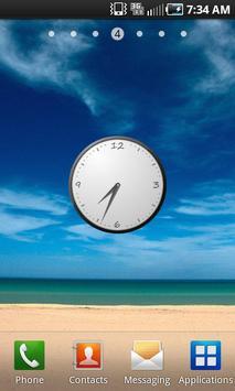 Simple Clock Widget poster