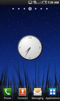 Simple Clock Widget apk screenshot
