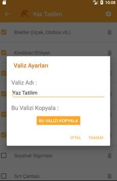 Valizim screenshot 2