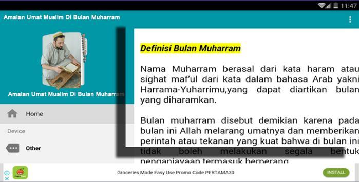 Amalan Umat Muslim Di Bulan Muharram screenshot 1