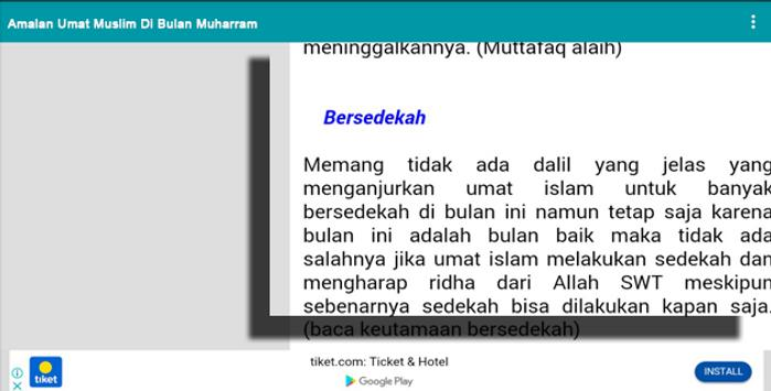 Amalan Umat Muslim Di Bulan Muharram screenshot 7