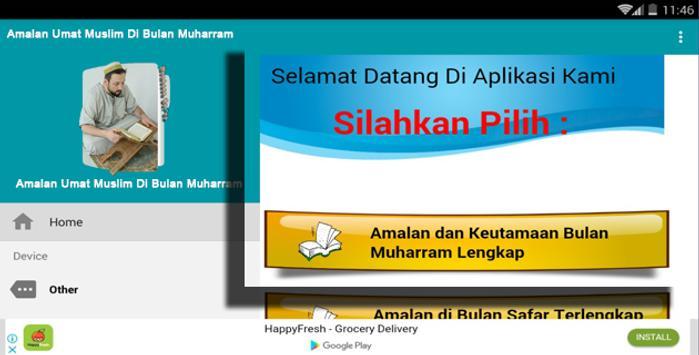 Amalan Umat Muslim Di Bulan Muharram screenshot 4