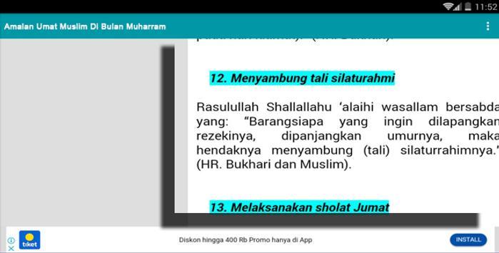 Amalan Umat Muslim Di Bulan Safar screenshot 7